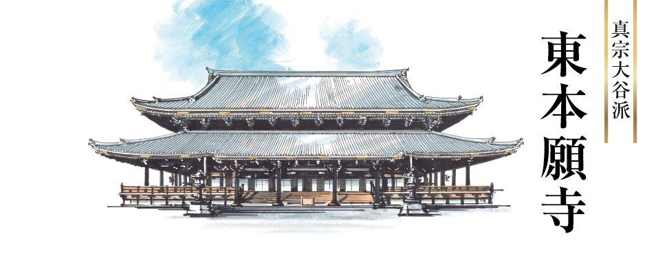 東本願寺へリンク